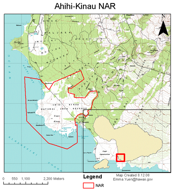 Ahihi-Kinau-Map