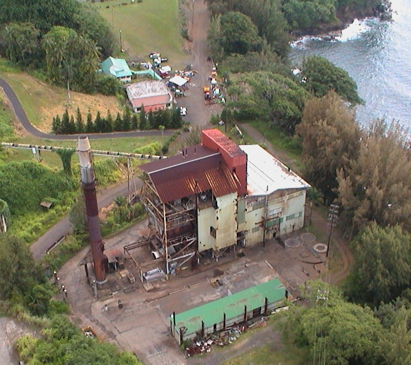 Pepe`ekeo power plant. Credit: Keep Our Island Clean