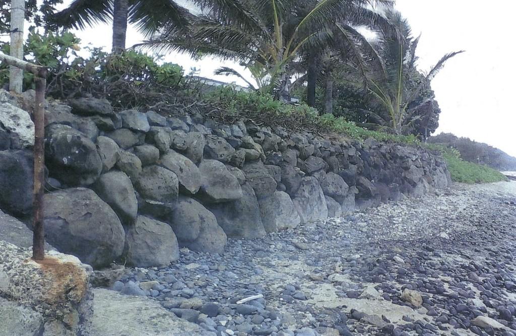 Monge seawall