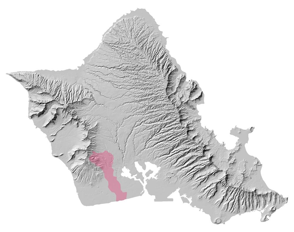 Kalo`i Gulch watershed.