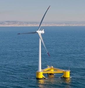 Floating wind generator