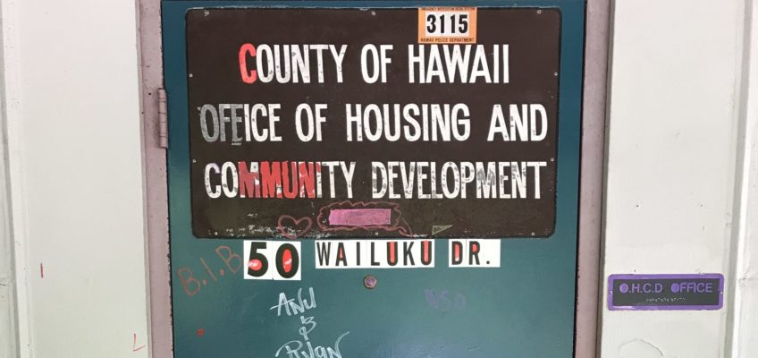 EDITORIAL: Oversight Required for Hawai'i County Housing Office